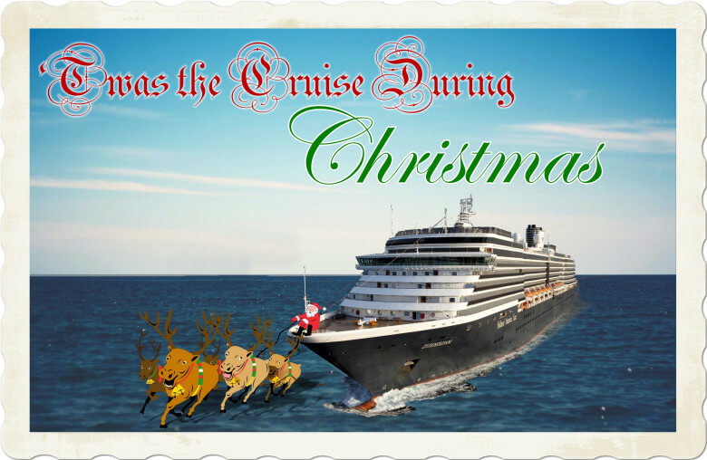 Just in time for the holidays! A brand, spanking new way to waste your time. 2018 Zuiderdam Christmas Cruise 2018 Zuiderdam Christmas Cruise