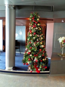 Christmas Tree - Explorer's Lounge