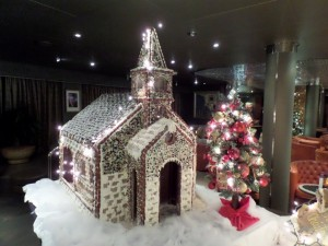 Gingerbread Church - Explorer's Lounge