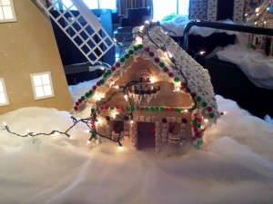 Explorer's Lounge Gingerbread House