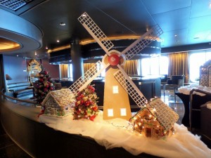 Explorer's Lounge Gingerbread Houses & Windmill