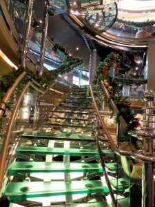 Grand Staircase - All Decked for Holidays